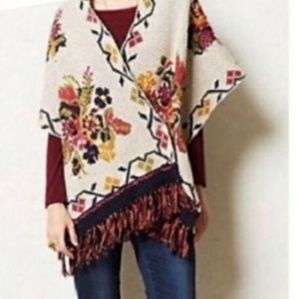 Anthropologie Sweaters - Antropologie Angel of the North poncho